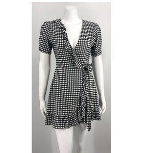 .NEW Lovers + Friends Wrap Mini Dress Small .55